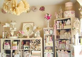 vintage craft room style that is perfection heart handmade uk