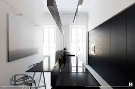 kitchen black and white kitchen features black island with raised kitchen black and white kitchen features black island with raised