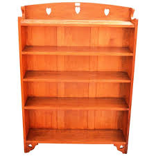 Arts Crafts Bookcase Good Arts And Crafts Oak Bookcase By Liberty And Co At 1stdibs