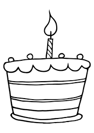 1st birthday coloring pages 30 birthday cake coloring pages
