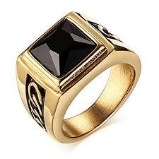 black stone rings images Black stone fashion rings jpg