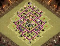 layout design th7 10 best town hall 7 th7 war base layouts war defense designs