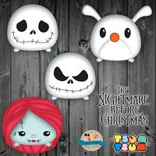 the nightmare before christmas tsum tsum characters jack