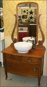 Refurbished Bathroom Vanity Diy Dresser Vanity For A Small Bath Dresser Vanity Dresser And