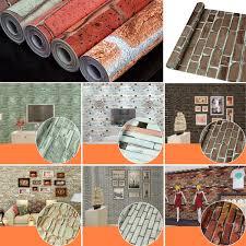 3d Wallpaper Home Decor by 45cm 10m 3d Wallpaper Brick Pattern End 3 16 2018 9 15 Am