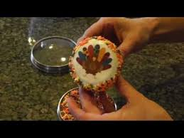 thanksgiving cupcakes decorating idea