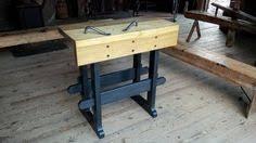 unusual goodell pratt bench hacksaw antique tool c1900 old saw