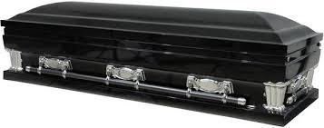 black casket gloss black casket rental dapper cadaver props