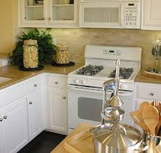 Updated Kitchens Combination Furniture Of Kitchens With White Appliances Home