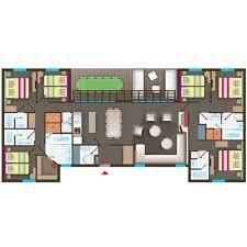 plan chambre a coucher plan chambre a coucher 13 fr cottage bd456 de center parcs le