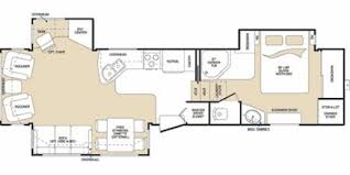 Montana Fifth Wheel Floor Plans 2007 Keystone Montana 3475rls Triple Slide Rear Living Use Fifth