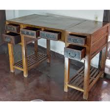 Chinese Desk Antique Chinese Elm 3 Piece Scholar U0027s Desk