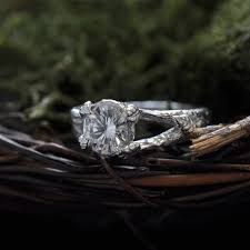 nature inspired engagement rings nature inspired rings for the eco conscious woodland fairies