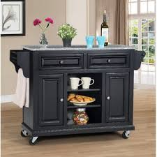 granite top kitchen islands granite kitchen islands carts you ll wayfair