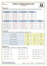 bodmas maths worksheets cazoom maths worksheets