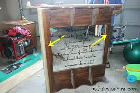 Repurpose Old Furniture by Repurpose Old Dresser Mirror U2013 Harpsounds Co