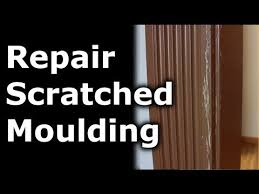 Repair Scratches In Wood Floor How To Repair Scratches In Your Moulding Walls Home Projects