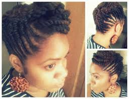 updo hairstyles with big twist natural hair flat twist updo vacation google search natural
