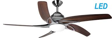 44 ceiling fan with remote fantasia viper 44 stainless steel with dark oak blades ceiling fan