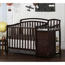 Changing Table And Crib On Me Casco 4 In 1 Mini Crib And Changing Table In Espresso