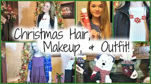 get ready with me christmas party hair makeup and ideas