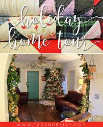 holiday home tour taz and belly