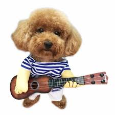 funny dog costumes halloween online get cheap guitar dogs aliexpress com alibaba group