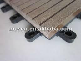 diy wpc wood plastic composite decking tile for corridor floor
