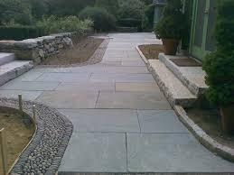 flagstone pavers patio flooring interesting bluestone pavers with steps and gravel plus