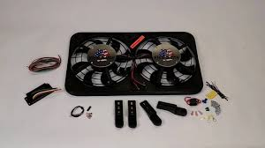 flex a lite electric fan kit how to mount a flex a lite electric fan youtube