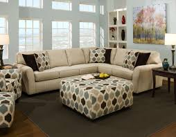 Sectional Sofa With Ottoman Dark Grey Modern Comfy Sectional Sofa Furniture For Beautiful