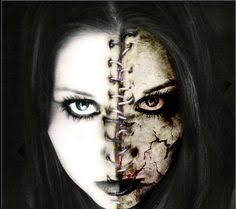Good Evil Halloween Costumes Halloween Costume Ideas Creatively Scary Horror Makeup