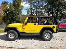 yellow jeep wrangler unlimited 2004 jeep wrangler unlimited lj cookeville tn expedition portal