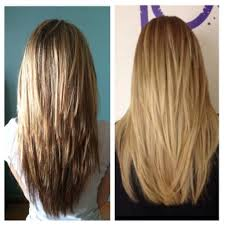 hairstyles with layered in back and longer on sides v back long layered haircuts long v shaped layered haircut long