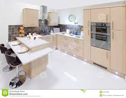 modern home interior kitchen royalty free stock photo image