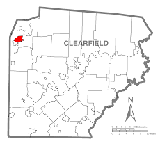 Pennsylvania Breweries Map by Dubois Pennsylvania Familypedia Fandom Powered By Wikia