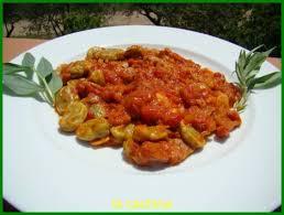 cuisiner des f钁es fraiches fèves fraiches sauce tomates version 1 la cachina