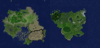 How To Use A Map In Minecraft Nuchalnuth Tropical Continent 3000 X 3000 Map Theme