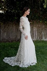 boho wedding dress with sleeves naf dresses