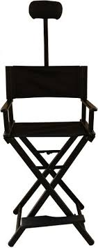 makeup stool for makeup artists maylan director aluminum lightweight makeup artist chair black