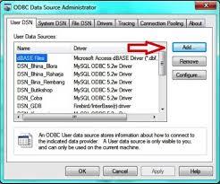 cara membuat koneksi database mysql menggunakan odbc source code aplikasi cara membuat dsn data source name pada