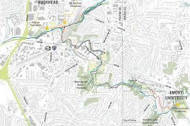 Map Of Atlanta Georgia by Natural Preserves Archives U2022 Sylvatica Studio