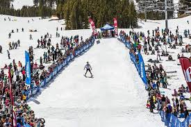 breckenridge ski resort celebrates closing day with breck plunge