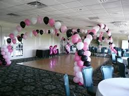 sweet 16 party decorations stress free sweet 16 decorations home design studio