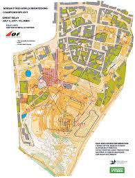Map Java Woc Sprint Relay Leg 1 July 2nd 2017 Orienteering Map From