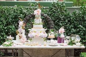 Wedding Cake Table Wedding Cakes Elizabeths Cake Emporium