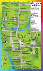 Map Of Hamptons New York by Woodstock Chamber Of Commerce U0026 Arts