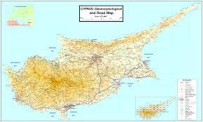 Map Of Cyprus Holiday Apartment Pyla Village Resort Larnaca Cyprus Links