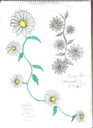 33 best tats images on pinterest daisy chain tattoo daisies