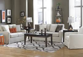 thin area rugs modern living room design with thin white simple pattern rug